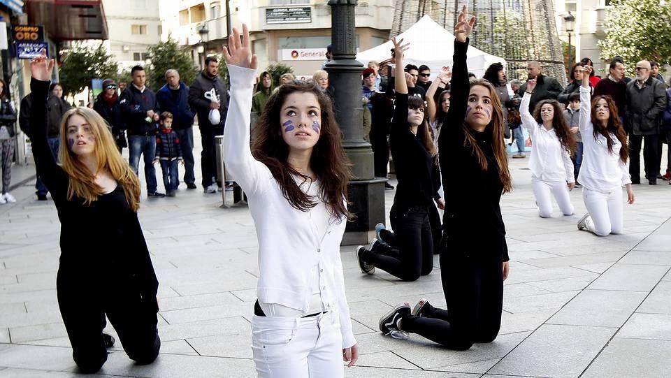 espectaculo flashmob