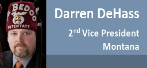 Darren DeHass, ASOB 2nd Vice President
