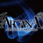 ARCANA ロゴ