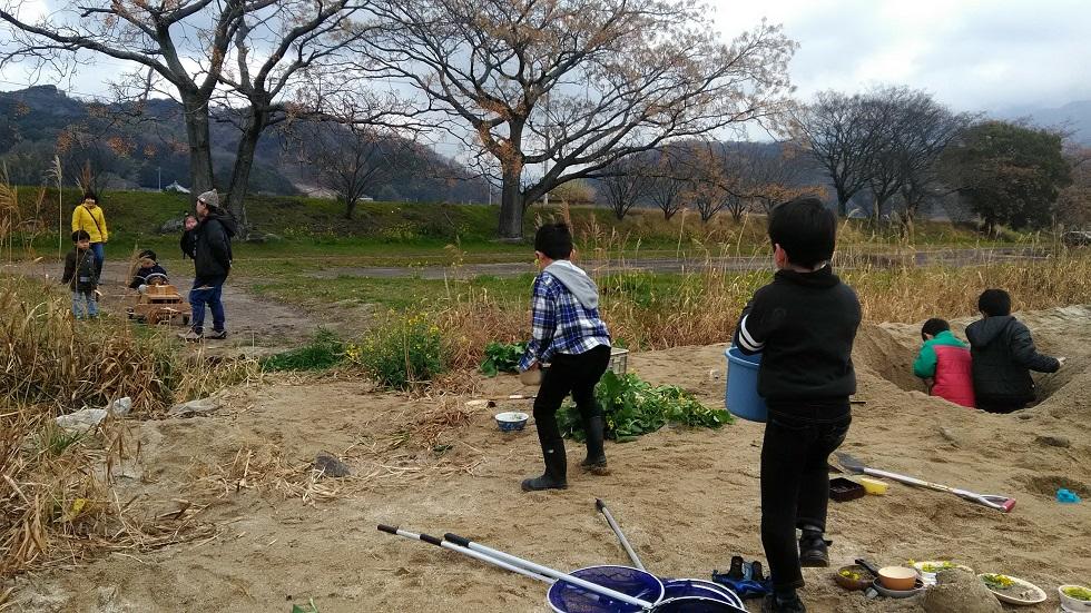 5/25立岩川プレーパーク開催します。