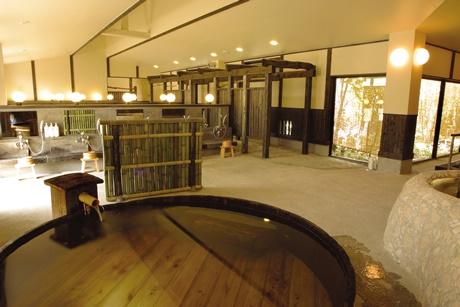 縄文天然温泉志楽の湯味噌樽風呂