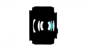 1 NIKKOR 18.5mm-lens