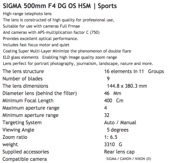 500mm-f4-dg-os-hsm-lens-specifications