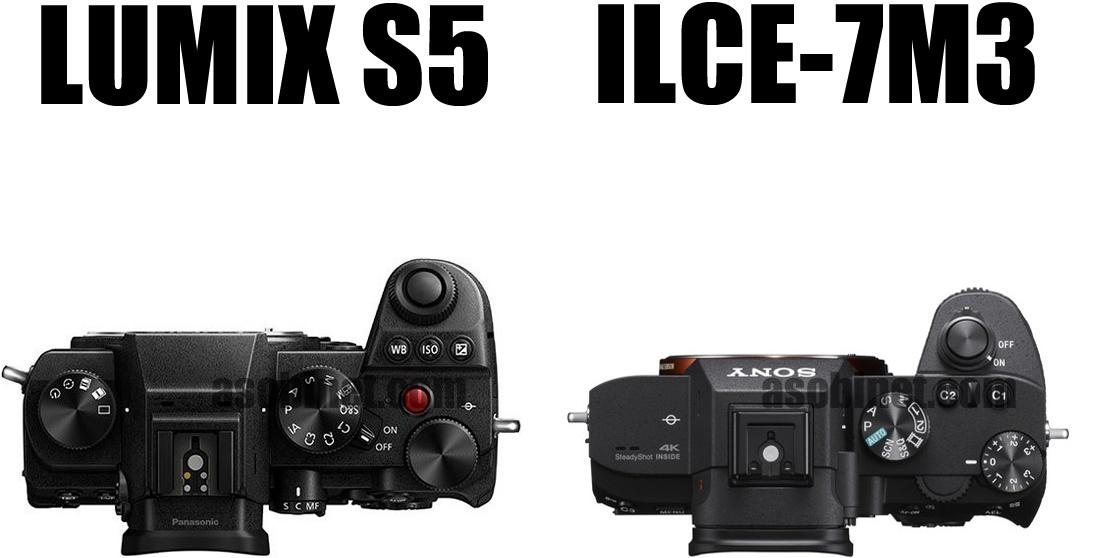 LUMIX S5とα7 IIIの比較