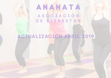 Actualización Abril 2019