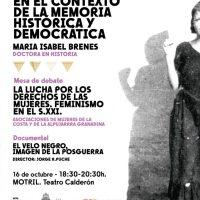 Una jornada en Motril recupera la memoria de las mujeres de la Costa de Granada en el 90 aniversario de su derecho a voto