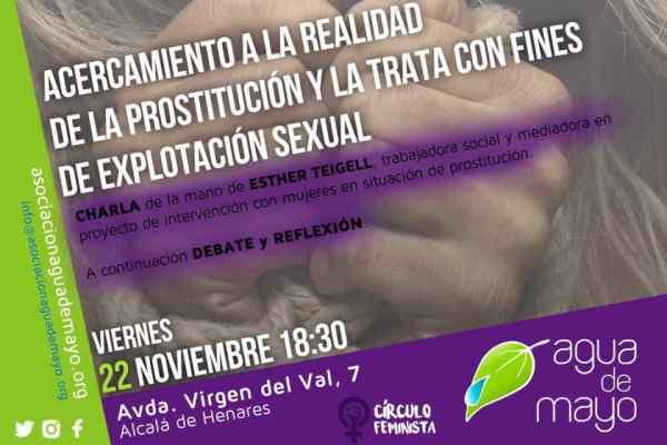 Círculo feminista de Agua de Mayo. Viernes 22 a las 18:30