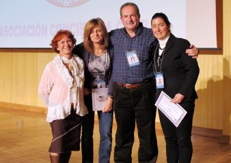 4 ponentes con diploma