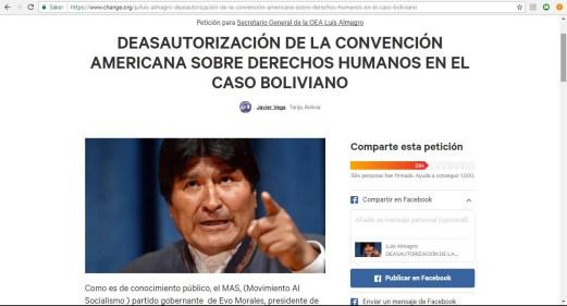 Petición a la OEA