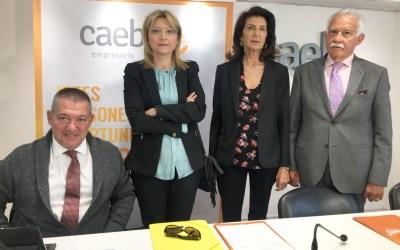 CAEB y DIA promueven la implicación de empresarios y trabajadores en la prevención