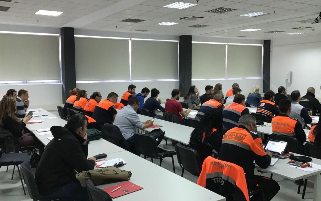 Curso de tráfico y prevención de accidentes con simulacro en la Escuela Nacional de Protección Civil