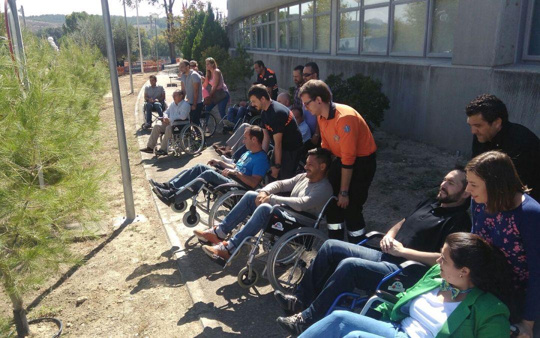 Última formación: actuación en emergencias con personas con discapacidad