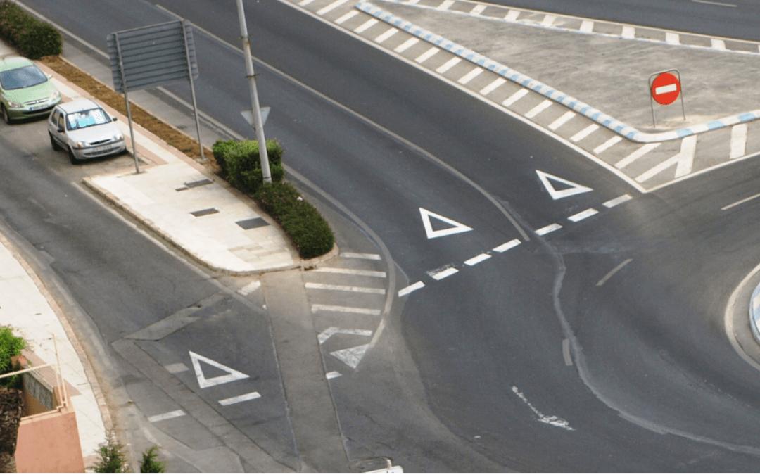 Denuncia: Accidentes por mala señalización y puntos negros