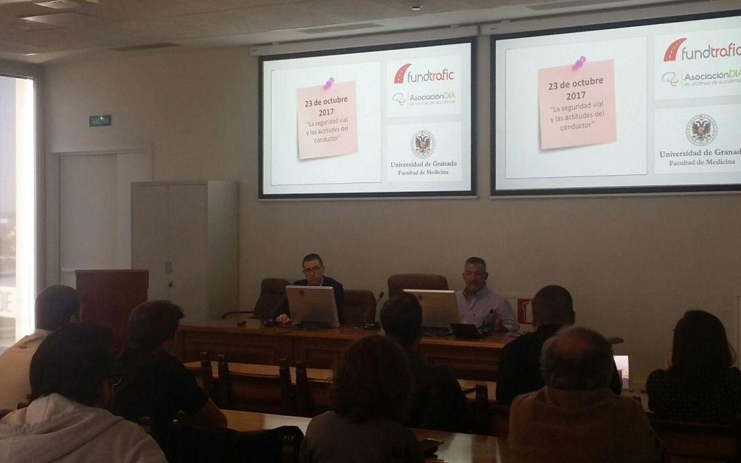 La prevención de accidentes de tráfico a estudio en las aulas de la Universidad de Granada