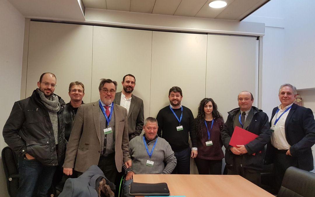 Asociación DIA y otras asociaciones piden revertir la Reforma del Código Penal en una reunión con Unidos Podemos