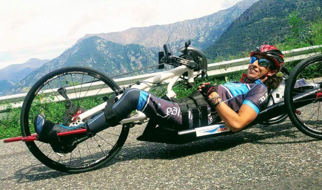 Mila López rompe barreras gracias al handbike