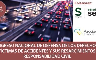 7 y 8 de marzo: I Congreso Nacional de Defensa de los Derechos de la Víctimas de Accidentes