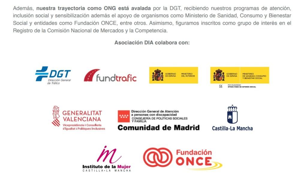 dictamenes previos-avales Asociación DIA