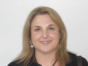 Foto de la vicepresidenta de la asociación, Montserrat Racero