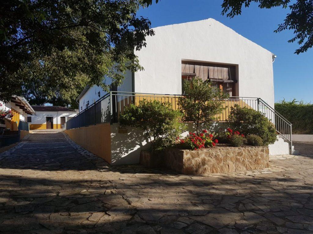 Sala de usosmúltiples y charlas y  VI Foro Andaluz de Galms