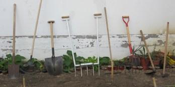Herramientas para la preparación del terreno
