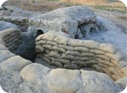 Restauración de trincheras