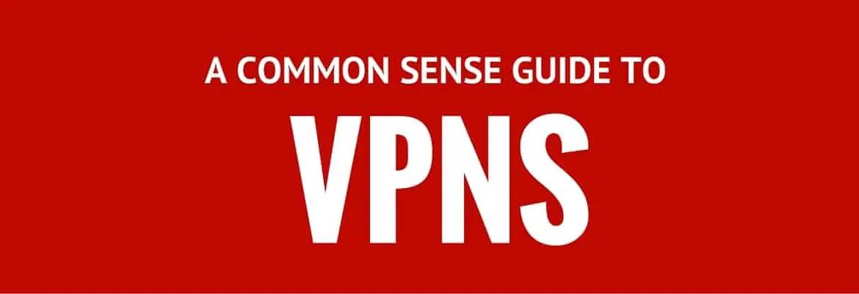 Common Sense Guide to VPNS 3
