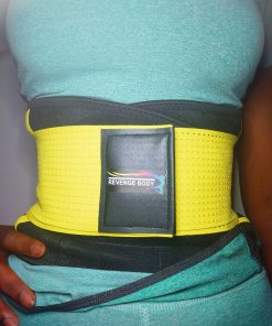 REVENGE BODY Women's Waist Trainer Belt -Body Shaper - Sports Girdle