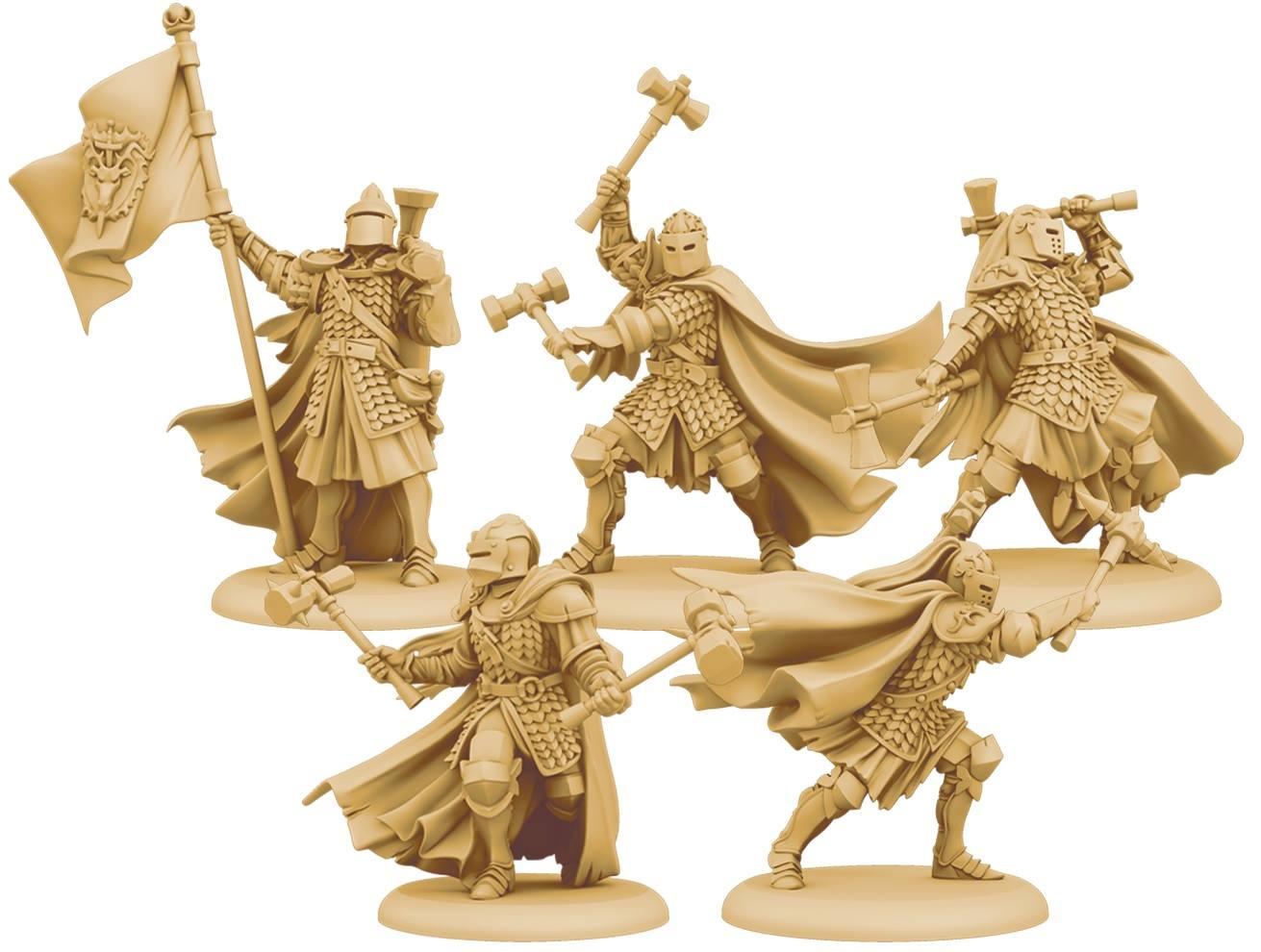 Baratheon Sentinels 3D Render