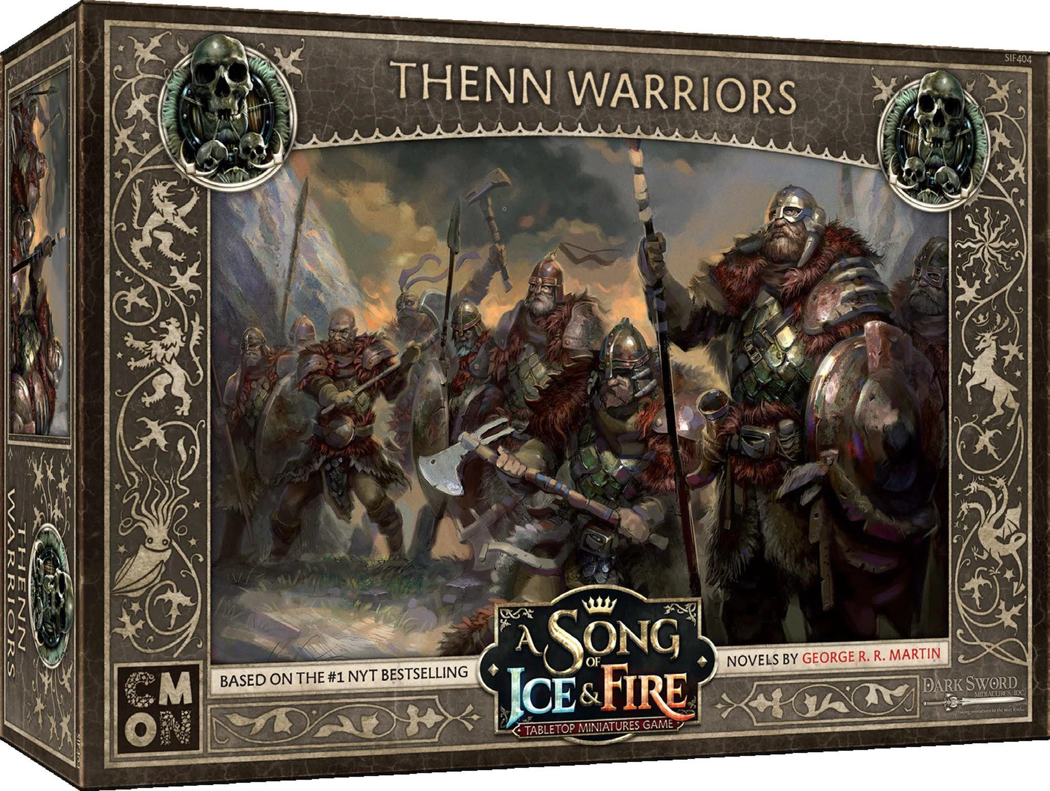 Thenn Warriors Boite de jeu US