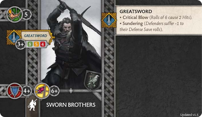 Sworn Brothers (Verso) 1.5 US