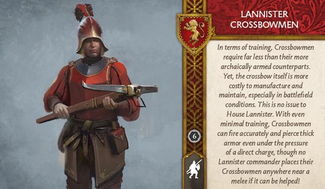 Lannister Crossbowmen Front