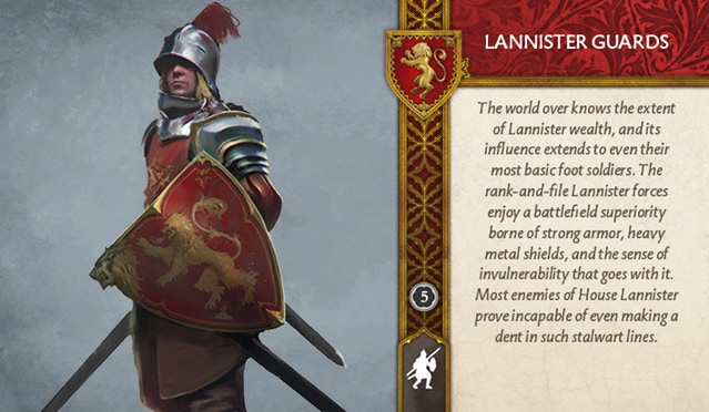 Lannister Guards Front