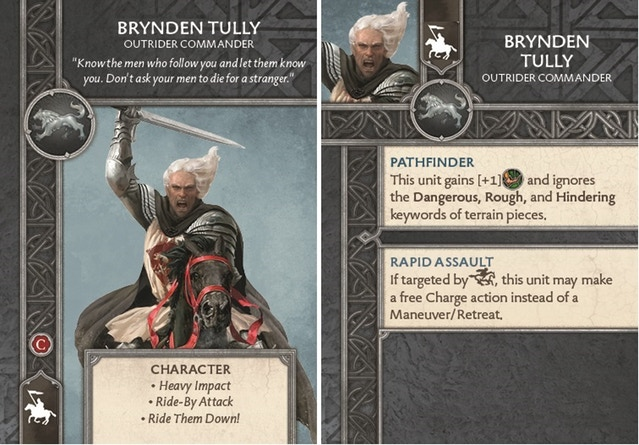 Brynden Tully - Outrider Commander