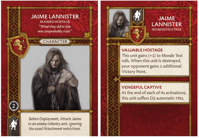 Jaime Lannister - Maimed Hostage