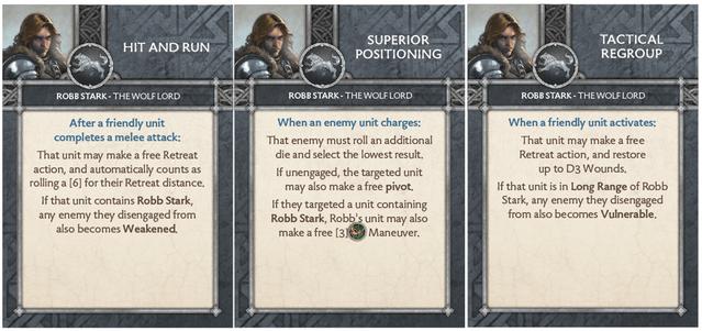 Robb Stark - Wolf Lord Tactics