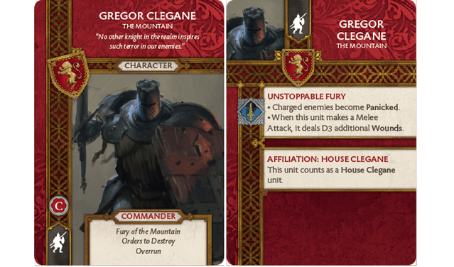 Gregor Clegane - The Mountain