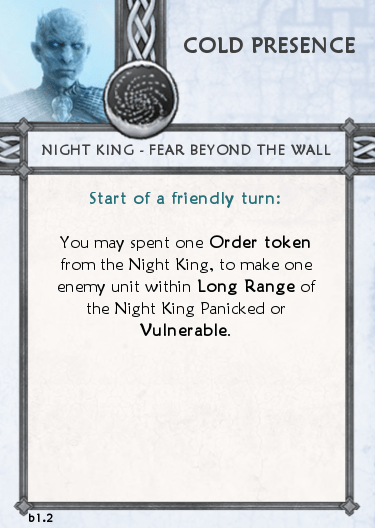 Night King Tactics Cards for The Others v.b1.2