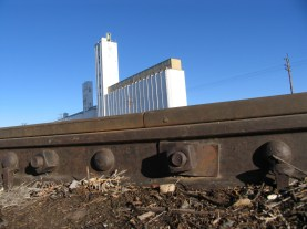 Grain Elevator in Brighton, Colorado
