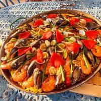 Paella, recept, Valenciaanse, kip, konijn, vis, zeevruchten, zelf maken, Casa Asombrosa, B&B, BnBjavea, Costa Blanca