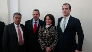 La Senadora de la República, Doctora  ROSMERY MARTÍNEZ ROSALES del Municipio  del  Espinal - Tolima