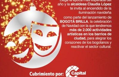 Bogotá Brilla: en Navidad el Distrito le apuesta a la reactivación del arte y la cultura con más de 2.000 actividades de talento local