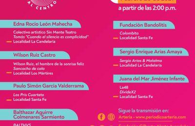 Segundo Festival Virtual Fúgate al Centro