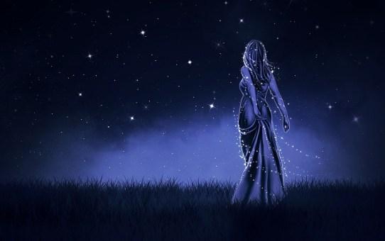 Fairy in the evening light.