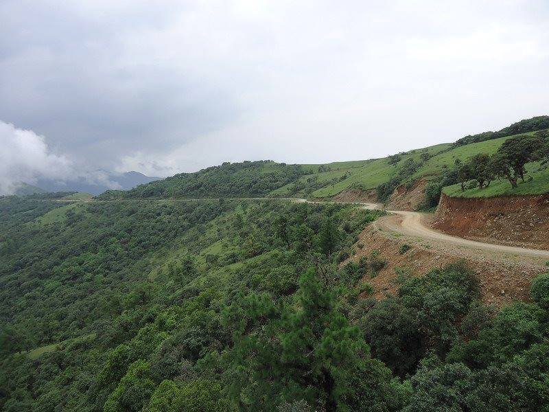 Road on Hill in Chin