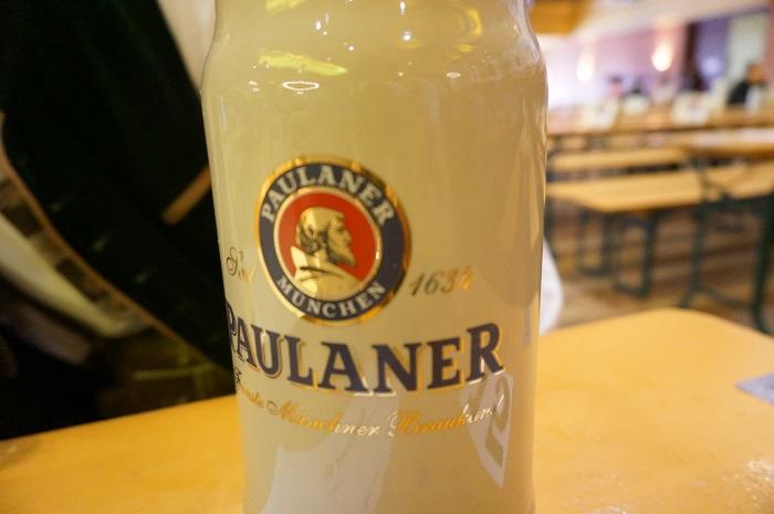 Paulaner am Nockherbergで美味しいヴァイスビアを飲もう!