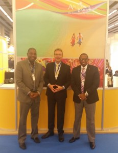 Photo 3 Antigua and Barbuda delegation with Thomas Rucht of TUI cruises