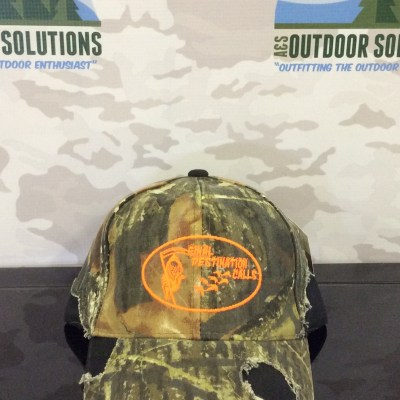 Camo Cap with Black Patches and Blaze Logo from Final Destination Calls