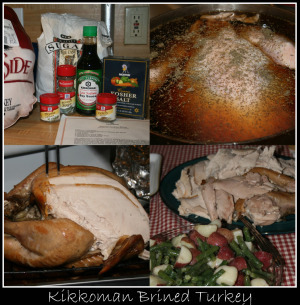 Soy Brined Turkey
