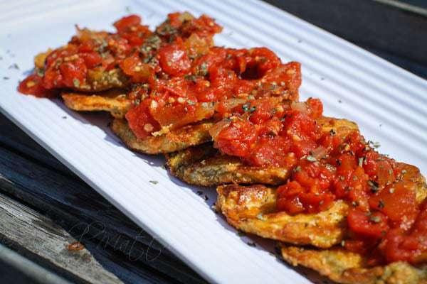 17 Day Diet Eggplant Parmesan